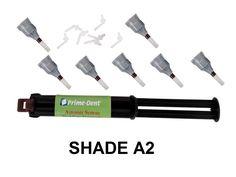 Prime-Dent Dual-Cure Automix Dental Luting Cement 1 Syringe Kit #100-101 - A2 - #PrimeDent