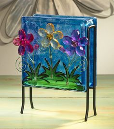 Inspiration: Glass Blocks via @BFranklinCrafts