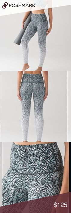 Lululemon Wunder Under Pant (Hi-Rise) Dazzle Nulux These no-fuss, versatile pants were designed to fit like a second skin—perfect for yoga or the gym. Nulux™ Nulux™ fabric is quick-drying, sweat-wicking, and offers lightweight coverage lululemon athletica Pants Leggings