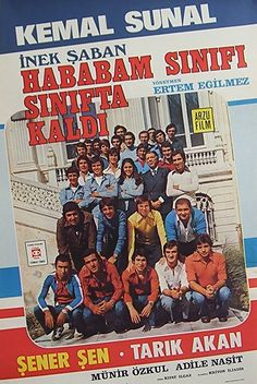 Hababam Sınıfı Sınıfta Kaldı; Kemal Sunal...  Arayıp da bulamadığınız tüm orijinal film afişleri için bize ulaşmanız yeterli...