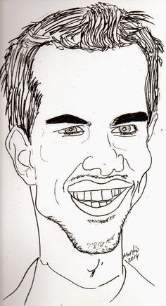 CARICATURAS DELBOY: TAYLOR LAUTHER