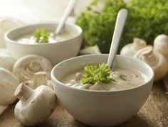 With Mother's Day on the way, you may be thinking of your menu. Creamy Crimini Mushroom Soup is a good way to tell the moms in your life how much you care about them by treating them to a heart healthy, vegetable based, delicious soup. Stuffed Mushrooms, Y Recipe, Mushroom Dish, Healthy Lifestyle, Food And Drink, Treats, Dishes, Vegetables, Recipes