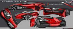Corvette C001 - Anniversary Collection on Behance