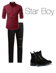 """Star Boy"" by lilmissemrys on Polyvore featuring American Eagle Outfitters, Yves Saint Laurent, men's fashion and menswear"
