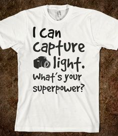 Photographer superpower. I WANT THIS! :)