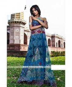 Essencia Lawn 2015 Designer Pakistani Salwar Kameez