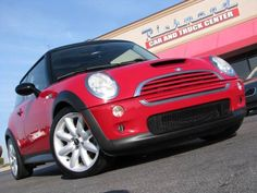 2004 Mini Cooper Hardtop S SUPERCHARGED 6 SPEED MANUAL! Red http://www.iseecars.com/used-cars/used-mini-cooper-hardtop-under-10000