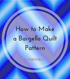 How to Make a Bargello Quilt Pattern | Always wanted to make a bargello? Learn how with our new step-by-step tutorial!