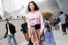 Seoul Fashion Week Street Style SS16 | Highsnobiety