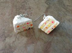 Miniature Confetti Cake (Funfetti) - Polymer Clay Tutorial - Miniature F...