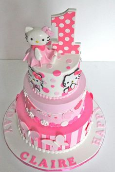 hello kitty party decorations site:pinterest.com | hello kitty #cake | Party Ideas