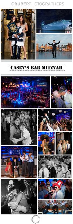The Intrepid Museum is a very popular destination for children's birthdays, of course, and the Special Events team can create wonderful celebrations for bar and bat mitzvahs, quinceañeras, Sweet 16s and every age!