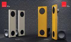 Wizard High-End Audio Blog: Spatial Audio Lumina speakers