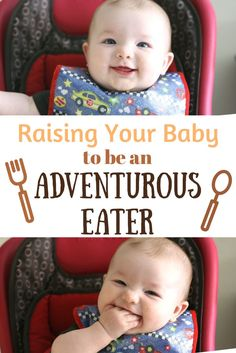 You want baby to be an adventurous eater but not sure where to start? Try these tested tips for getting baby past bland foods & trying new tastes!