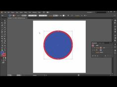 ▶ 60 Second Illustrator Tutorial : Create a Double Stroke -HD- - YouTube