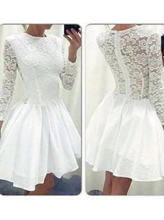 A-line+Scoop+Short/Mini+Chiffon+Cocktail+Dresses/Short+Prom+Dress#+ZP286