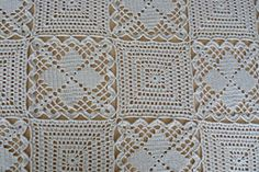 Ravelry: A Bedspread, made of two kinds of patterns pattern by Mimi Atanasova..2 free motif patterns!