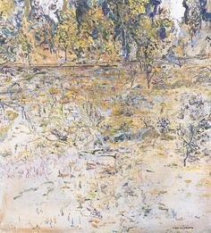 View artworks for sale by Williams, Fred Fred Williams Australian). Filter by auction house, media and more. Australian Painters, Australian Artists, Fred Williams, Sense Of Place, 2d Art, Abstract Landscape, Artist At Work, Artsy Fartsy, Impressionist