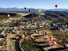 Balloons in Pagosa Springs, CO on 09/20/2014. www.ochomesbyjeff.com #orangecountyrealtor #jeffforhomes #pagosasprings
