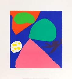 Gouache for St. Ives Window, 1992 by Patrick Heron - art print from King & McGaw Patrick Heron, Nature Collage, Poster Prints, Art Prints, Silk Screen Printing, 2d Art, Gouache, Art Projects, Abstract Art
