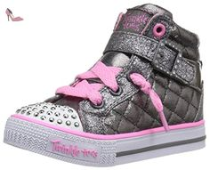 competitive price e7be3 28261 Skechers Shuffles Sweetheart Sole, Baskets Hautes Fille  Amazon.fr   Chaussures et Sacs