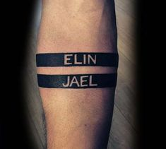 arm band name tattoo kol bandı isim dövmesi