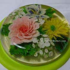 Gelatin Art Flowers