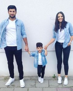 Likes, 37 Comments – Best of Street Style ( on Instagr Likes, 37 Kommentare – Best of Street Style ( auf Instagr … – Mother Son Matching Outfits, Mom And Son Outfits, Matching Couple Outfits, Baby Boy Outfits, Twin Outfits, Little Boy Outfits, Paar Style, Baby Boy Dress, Mom And Baby Dresses
