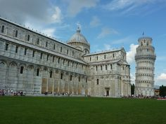 Pisa, Italy. The Leaning Tower.