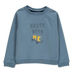"Sweat ""Skate With Me"" James Bleu nuit  Louis Louise"