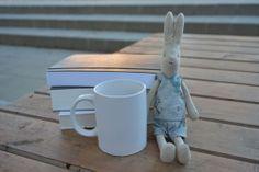 Having a rest - Maileg rabbit - www.blaubloom.com