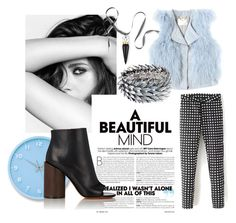 A beautiful mind by editheverest on Polyvore featuring polyvore, fashion, style, Rebecca Taylor, Givenchy, Majique, Christian Louboutin, Lemnos, Chanel and clothing
