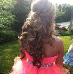 Fabulous 1000 Images About Prom On Pinterest Sherri Hill Half Up Half Short Hairstyles Gunalazisus