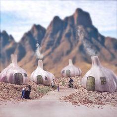   Garlic Village   by William Kass - 500px