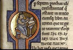 Nuptiis Philologiae et Mercurii, XII sec, Paris, Bibl. Sainte-Geneviève, ms. 1041, f. 2