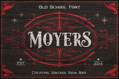 Moyers Typeface by Area Type Studio on Creative Market