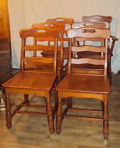 Consider Willett, Maple Drop Leaf Dining Table And Chairs And Hutch ...