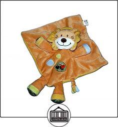 NICOTOY - Doudou plat LION Orange - Oiseau - 579/8394  ✿ Regalos para recién nacidos - Bebes ✿ ▬► Ver oferta: http://comprar.io/goto/B01BUWLDHA
