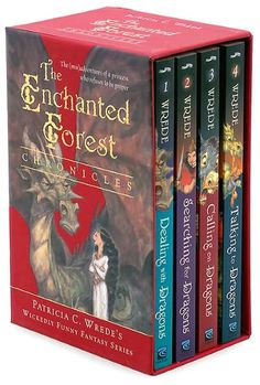 The Enchanted Forest Chronicles: Dealing with Dragons/ Searching for Dragons/ Calling on Dragons/ Talking to Dragons by Patricia C. Wrede