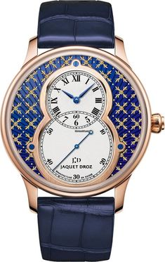 JAQUET DROZ [NEW][LIMITED] GRANDE SECONDE PAILLONNEE 43mm J003033414 (Retail:CHF 40000) Special Price:HK$238,000