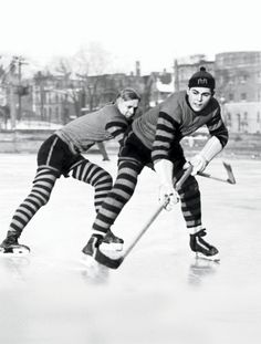 I'd play hockey in striped socks