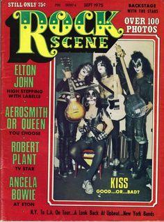Kiss Magazine Covers -  Rock Scene
