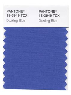 Pantone 2014 Dazzling Blue - Oh, yes!  This color is for me, and I can't wait for all the new products in this color.