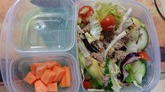 Tuna salad and carrots Tuna Salad, Daily Meals, Carrots, Challenge, Ethnic Recipes, How To Make, Food, Tuna Fish Salad, Meal