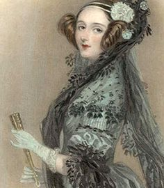 The amazing Countess of Lovelace, Ada Byron daughter of Lord Byron. 1833: Ada Byron meets Charles Babbage. He designed an early computer, and she would write the first computer program.