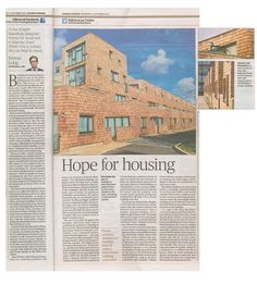 Vision for Social Housing — Peter Barber Architects