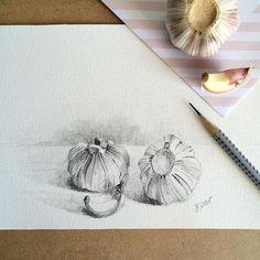 #garlic #drawing #pencildrawing #pencil by callmelili