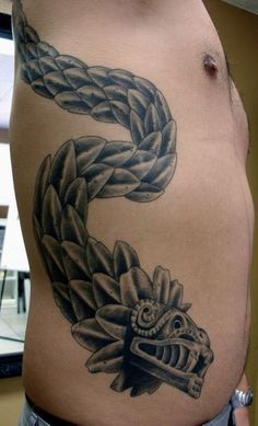... tattoos quetzalcoatl la serpiente