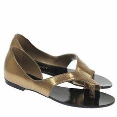 Sandália Rasteira Bronze 1610 Boutique, Bronze, Flats, Shoes, Fashion, Exclusive Shoes, Wide Fit Women's Shoes, Shoes Sandals, Zapatos