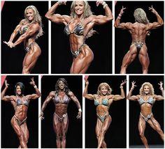 Top 5 Physiques:Juliana Malacarne(up),Dana Linn Bailey,Tycie Coppett,Karina Nascimento,Sabrina Taylor (left to right)